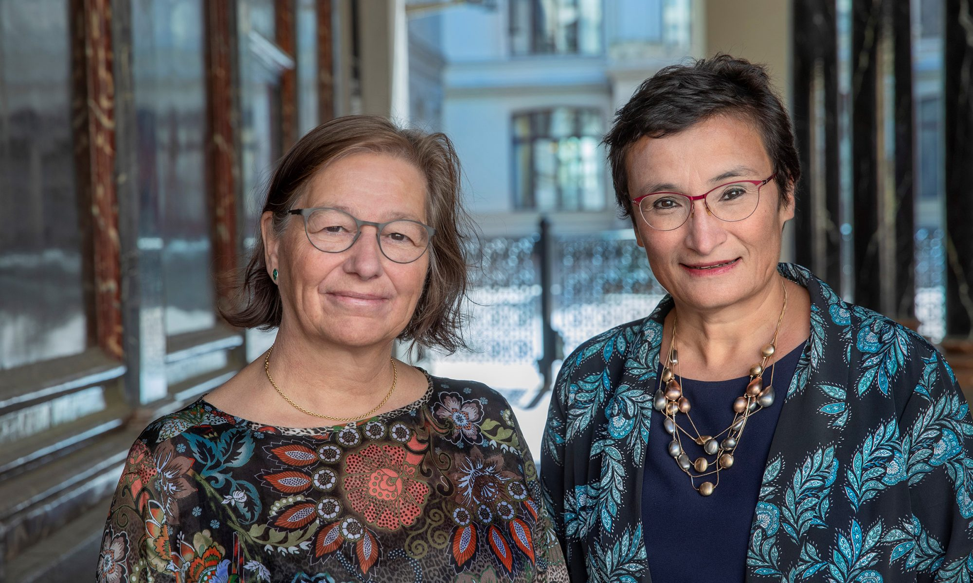 """Among other things, we will be examining methods and tools for ensuring that AI and autonomous systems are designed so they don't clash with human values and ethical principles,"" says Professor Dignum, who researches on societal, ethical and cultural implications of AI at Umeå University. From left to right: Kerstin Sahlin, Professor and Chair, WASP-HS, Uppsala University, and Virginia Dignum, Professor and scientific director, WASP-HS, Umeå University."